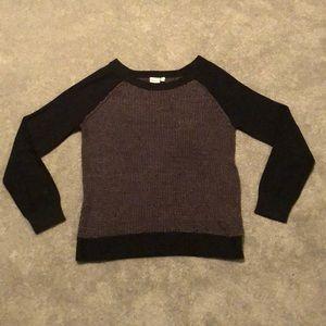 Black/Gray Sweater